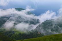 Magura Transylvania, weather, cloud, atmospheric mountain scene