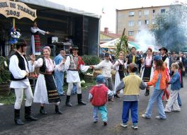 Autumn festival in Zarnesti