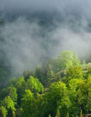 Weather, clouds, storm, Magura, Transylvania, Carpathians