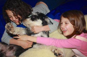 Bertie discovers the joy of children