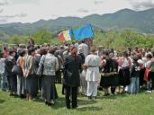 The village celebrates Eroilor, Heroes' Day