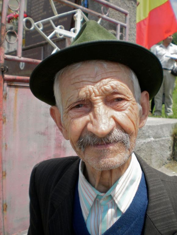 Mr Cojanu, aged 92