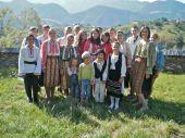 Traditional costume, Romania, Transylvania, Magura, Piatra Craiului