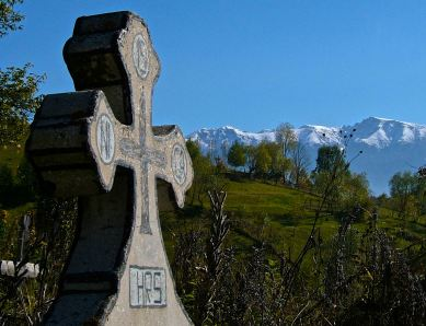 A Transylvanian place to Rest In Peace...