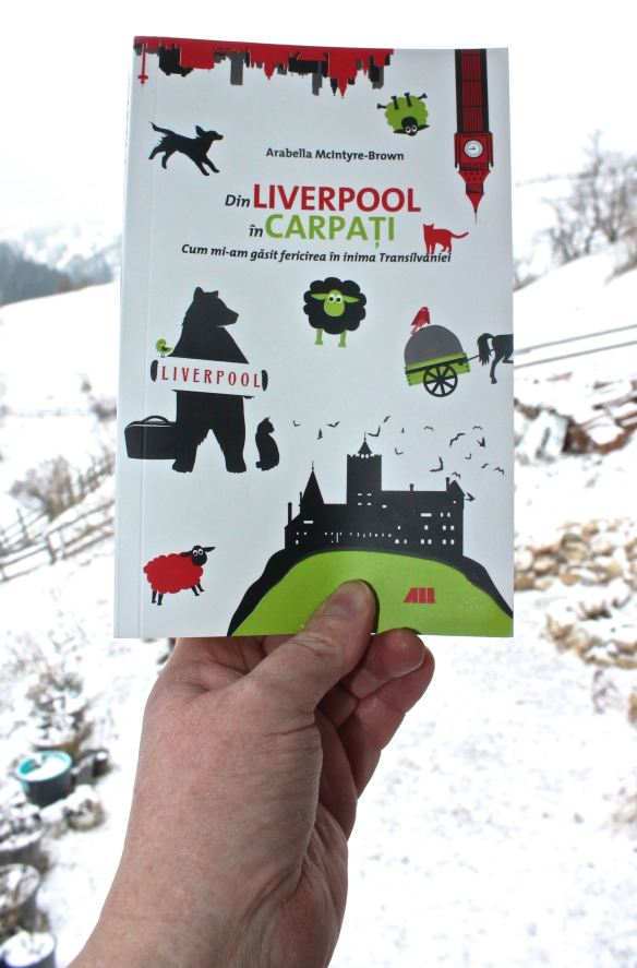 Book Din Liverpool in Carpati against snowy landscape