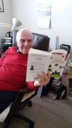 Arabella McIntyre-Brown's book Din Liverpool in Carpati being read in New York
